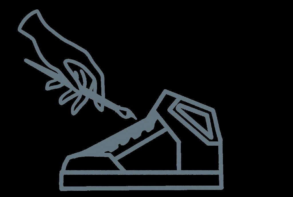 Icon service de customisation de Shoes On Top